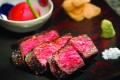 Delicious Wagyu beef prepared by teppanyaki master, Junichi Yoshida at Mizumi.