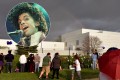 After his death in April, Prince's fans have turned his renowned Paisley Park in Minneapolis into a memorial for the musician. Photo: Getty/AP