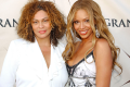 Beyoncé with her mother Tina Knowles. Photo: Robert Mora/Getty Images