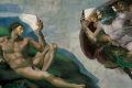 The creation of oh hang on, I'm getting a WhatsApp. Illustration: Michelangelo x Pierre Pang