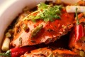 Crab with mixed sauce