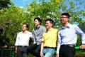 Left to right: Mak Tse-hei, Leung Li, Gary Fan and Ben Chung