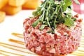 Beef tartare from Stan Cafe