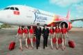 Professional flight crew in VietJet