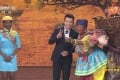 A skit celebrating China's relationship with Africa from the latest Chinese Spring Festival Gala show has come under fire for its insensitive depiction of an African woman. Image: CCTV