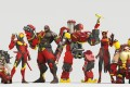 The Shanghai Dragons, owned by NetEase, play in red character uniforms. (Picture: OWL)