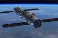 An artist's impression of the Tiangong-2 space station docked with the Shenzhou spacecraft. (Picture: China Manned Space Engineering Office)