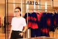 """Young home-grown fashion designer Arto Wong and the """"ARTO."""" Capsule Collection, which is now available at JOYCE in Pacific Place, Hong Kong and at JOYCE in Shanghai."""