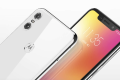 The Motorola P30 Play comes with an iPhone X-style notch and a dual-camera on the back. (Picture: Motorola)