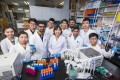 The research team at City University of Hong Kong produces EVs from red blood cells as drug carriers for treating cancer.
