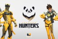 So uh, do the pandas hunt... or does the team hunt pandas? (Picture: Chengdu Hunters)