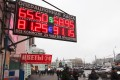 The rouble has lost more than 50 per cent against the US dollar this year. Photo: Reuters