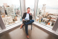 CEO Jeff Booth in BuildDirect's 22-floor office: his company recruited a Canadian from Amazon. Photo: Chung Chow