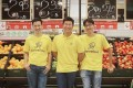 Honestbee's head of products Isaac Tay (left), CEO Joel Sng (centre) and Singapore country manager Jonathan Low, the company's co-founders. Photo: SCMP Pictures