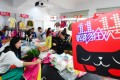 Staff of an e-commerce company prepare for the Singles' Day shopping spree, or Double 11, in Hefei City, capital of east China's Anhui Province, on October 10. The event, China's equivalent of Black Friday, falls on November 11. It started in 2009. Photo: Xinhua