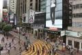 Luxury retailers line Russell Street in Causeway Bay. Photo: Sam Tsang