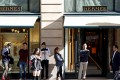 Chinese shoppers are forecast to spend US$117 billion on luxury goods this year. Photo: Reuters