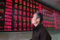 All the brokerage companies plunged on Friday, as panicked investors dumped their holdings. Photo: EPA