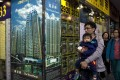 The average home price in Hong Kong was HK$10,487 per sq ft based on saleable area last month. Photo: AFP
