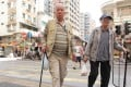 Senior citizen in Hong Kong.