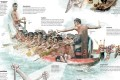 We explained dragon boating in a back page pictorial spread. Photo: SCMP Pictures