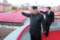 North Korean leader Kim Jong-un (left). Photo: Reuters