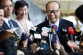 Li Ka-shing says the performance of Hong Kong's property market will hinge on whether the supply and demand of flats be subject to whether flat supply and demand can strike a balance. Photo: Nora Tam