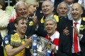 Arsenal will be going for a third straight triumph in the FA Cup this year. Photo: AP