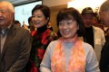 Former Taiwan culture minister Lung Ying-tai (centre) attends the HKU discussion. Photo: K. Y. Cheng