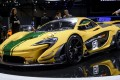 The new McLaren P1 GTR is displayed at the booth of the British carmaker during the press day of the Geneva Car Show in Geneva in 2013. Photo: AFP