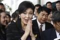 Thailand's former Prime Minister Yingluck Shinawatra. Photo: AP