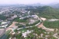 A bird's-eye view of Tai Tong Yuen Long where the government plans to create a residential development. Photo: Tomy Ng