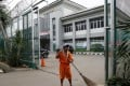 Cipinang prison in Jakarta. One of the militants who carried out the recent gun and suicide bomb attack in the city, Afif, also known as Sunakim, was one of some 20 convicts heavily influenced by fellow convict and firebrand Islamist cleric Aman Abdurrahman while an inmate at the prison, experts say. Photo: Reuters