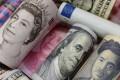 Euro, Hong Kong dollar, US dollar, yen, pound and yuan banknotes. Photo: Reuters