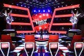 """The set of the TV talent show """"The Voice of China"""". Photo: SCMP Pictures"""
