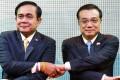 Thai Prime Minister Prayuth Chan-ocha (left) with Premier Li Keqiang. Photo: Reuters