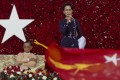 Myanmar's pro-democracy icon Aung San Suu Kyi now faces the challenge of fulfilling the immense promise of a country where generations of military locusts stripped away the potential it had to be a leader of modern economic development. Photo: AP