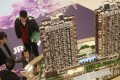A model of Twin Regency displayed at Yoho Town in Yuen Long.Photo: K. Y. Cheng, SCMP