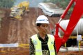 Indonesian President Joko Widodo attends a ground breaking ceremony for the Jakarta-Bandung high-speed railway line in Walini, West Java province, Indonesia. Photo: Reuters