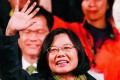 Taiwan's president-elect assumes office on May 20 following her election sweep in January. Photo: AP
