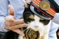 Tama the cat became famous in Japan as a pseudo-stationmaster at a railway station. Thousands of people attended her funeral last year. Photo: Kyodo