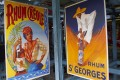Rum is known by many names, and in France is called rhum. These signs for Rhum Creole and Rhum St Georges are in a rum factory in the French Caribbean territory of Martinique. Photo: Corbis