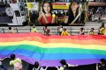 The 2015 Hong Kong Pride Parade for sexual minorities. Rights groups say people are now more willing to accept members of the LGBTI community. Photo: Jonathan Wong