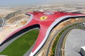 The Ferrari World theme park in Abu Dhabi, which opened in 2010 and boasted what the company said at the time was the world's fastest roller coaster. Photo: AP