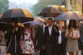US President Barack Obama tours Old Havana with his family at the start of a three-day visit to Cuba on Sunday. Photo: Reuters