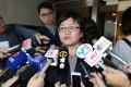 Hong Kong Journalists Association chairwoman Sham Yee-lan decries the state of press freedom. Photo: Dickson Lee