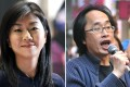 Candace Chong (left) and Chan Chu-hei discussed the issue on on RTHK on Wednesday morning. Photos: Dickson Lee, SCMP Pictures