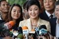 Former Thai prime minister Yingluck Shinawatra. Photo: AFP