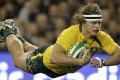 Australia's Nick Cummins is still hopeful of making the Olympic sevens squad. Photo: AP