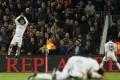 Real Madrid's Cristiano Ronaldo celebrates netting the winning goal against Barcelona. Photo: Reuters